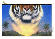Tiger Of The Lake Carry-all Pouch