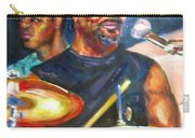 Tiger On Drums Carry-all Pouch