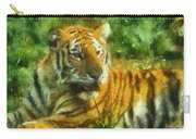 Tiger Resting Photo Art 02 Carry-all Pouch