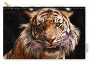 Tiger Stare Carry-all Pouch
