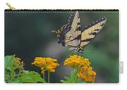 Tiger Swallowtail And Lantana Carry-all Pouch
