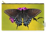 Tiger Swallowtail Butterfly, Dark Phase Carry-all Pouch