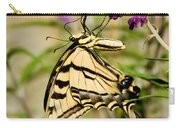 Tiger Swallowtail Butterfly Feeding Carry-all Pouch