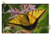 Tiger Swallowtail Digital Art Carry-all Pouch
