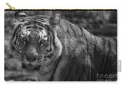 Tiger With A Fixed Stare Carry-all Pouch
