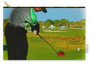 Tiger Woods  - Second Round Of The Honda Classic Carry-all Pouch