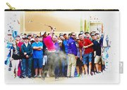 Tiger Woods - The Waste Management Phoenix Open At Tpc Scottsdal Carry-all Pouch