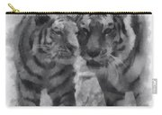 Tigers Photo Art 01 Carry-all Pouch