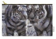 Tigers Photo Art 02 Carry-all Pouch