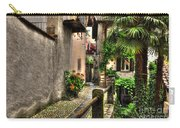 Tight Alley With Palm Trees Carry-all Pouch