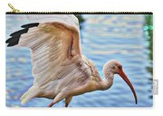 Tightrope Walking Ibis Carry-all Pouch