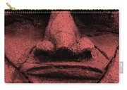 Tiki Mask Salmon Carry-all Pouch