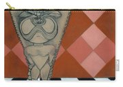 Tiki Statue Art Carry-all Pouch