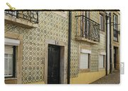 Tile Walls Of Lisbon Carry-all Pouch
