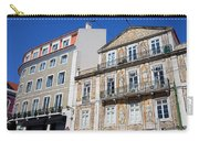 Tiled Building In Chiado District Of Lisbon Carry-all Pouch
