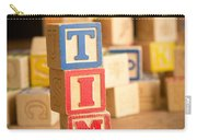 Tim - Alphabet Blocks Carry-all Pouch