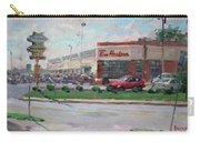 Tim Hortons By Niagara Falls Blvd Where I Have My Coffee Carry-all Pouch