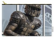 Tim Tebow Uf Heisman Winner Carry-all Pouch by Lynn Palmer