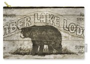 Timber Lake Lodge Carry-all Pouch