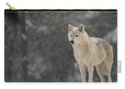 Timber Wolf Female North America Carry-all Pouch