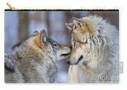 Timber Wolf Pictures 1230 Carry-all Pouch