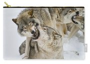 Timber Wolf Pictures 1314 Carry-all Pouch
