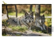 Timber Wolf Pictures 1363 Carry-all Pouch