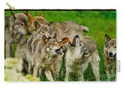 Timber Wolf Pictures 1593 Carry-all Pouch