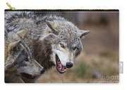 Timber Wolf Pictures 173 Carry-all Pouch