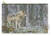 Timber Wolf Pictures 185 Carry-all Pouch