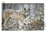 Timber Wolf Pictures 187 Carry-all Pouch
