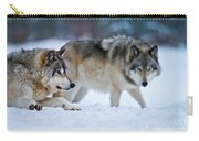 Timber Wolf Pictures 190 Carry-all Pouch