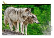 Timber Wolf Pictures 191 Carry-all Pouch