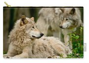 Timber Wolf Pictures 192 Carry-all Pouch