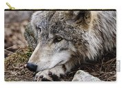 Timber Wolf Pictures 205 Carry-all Pouch