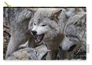 Timber Wolf Pictures 210 Carry-all Pouch
