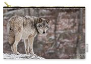 Timber Wolf Pictures 498 Carry-all Pouch
