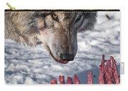 Timber Wolf Pictures 552 Carry-all Pouch