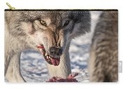 Timber Wolf Pictures 556 Carry-all Pouch