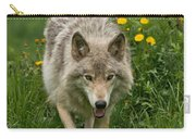 Timber Wolf Pictures 59 Carry-all Pouch