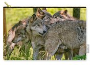 Timber Wolf Pictures 61 Carry-all Pouch