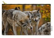 Timber Wolf Pictures 62 Carry-all Pouch