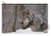Timber Wolf Pictures 74 Carry-all Pouch