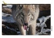 Timber Wolf Pictures 954 Carry-all Pouch