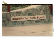 Timbisha Shoshone Sign Carry-all Pouch