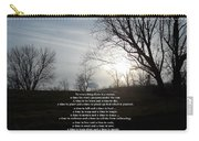 Time And Seasons Carry-all Pouch