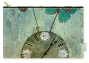 Time Flies Carry-all Pouch by Aimelle