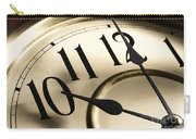 Time Goes By Carry-all Pouch
