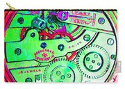 Time In Abstract 20130605m72 Square Carry-all Pouch