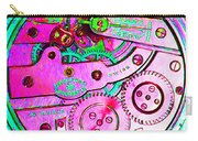 Time In Abstract 20130605p108 Square Carry-all Pouch